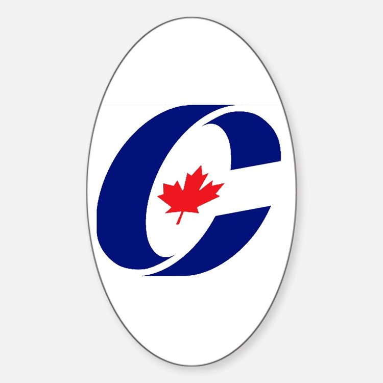 Conservative Party Oval Decal