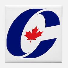 Conservative Party Tile Coaster