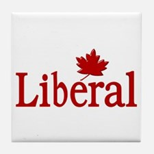 Liberal Party Of Canada Tile Coaster