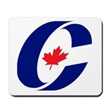 Conservative party of canada Mouse Pads
