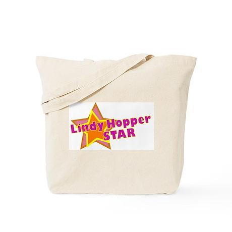 Lindy Hopper Star Tote Bag