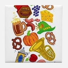 OKtoberfest Best Tile Coaster