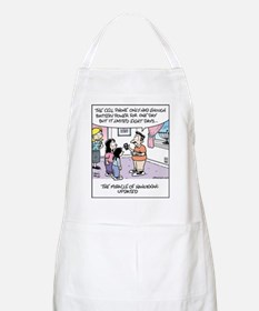 Cell Phone Miracle BBQ Apron