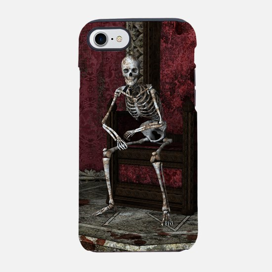 Gothic Waiting Skeleton iPhone 7 Tough Case
