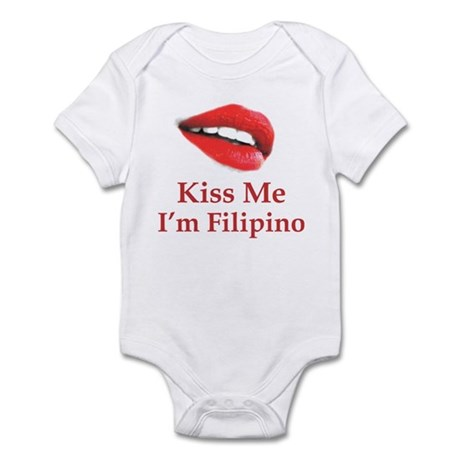 Kiss Filipino Infant Bodysuit