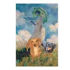 Walk Doxies Postcards (Package of 8)