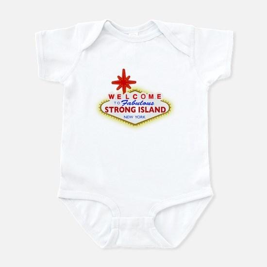 Strong Island Vegas Infant Bodysuit