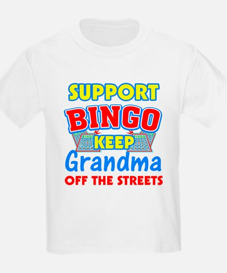 Support Bingo Grandma T-Shirt