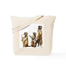 Meerkat Trio2 Tote Bag