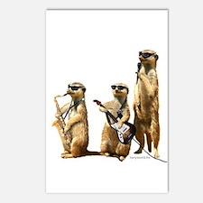 Meerkat Trio2 Postcards (Package of 8)