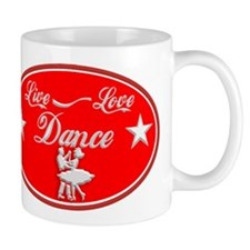LIVE LOVE DANCE Small Mug