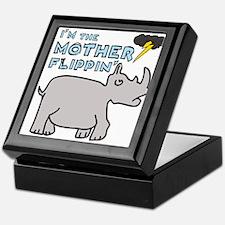 Motherflippin' Keepsake Box