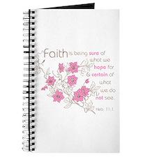 Faith (pink & brown) Journal