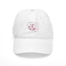 Faith (pink & brown) Baseball Cap