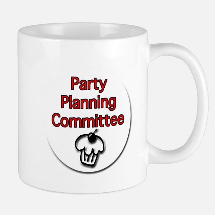 Party Planning Committee Mugs