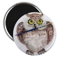 Funny Chouette Magnet