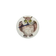Unique Chouette Mini Button (10 pack)