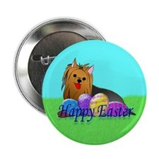 """Yorkshire Terrier 2.25"""" Button (100 pack)"""
