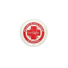 Twilight Blood Donor Mini Button