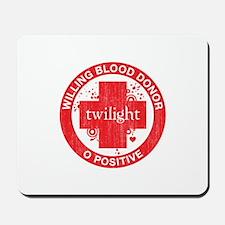 Twilight Blood Donor Mousepad