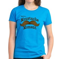 Time For A Moustache Moment Tee