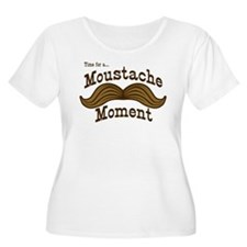 Time For A Moustache Moment T-Shirt