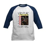 Boys wrestling Baseball Jersey