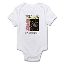 That's How I Roll Wrestling Onesie