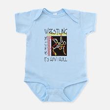 That's How I Roll Wrestling Infant Bodysuit