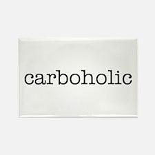 """Carboholic"" Rectangle Magnet"