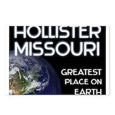 hollister missouri - greatest place on earth Postc