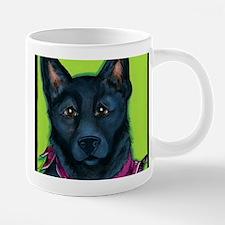 Black Shepherd 20 oz Ceramic Mega Mug