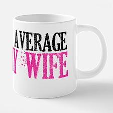 not your average army wife. 20 oz Ceramic Mega Mug