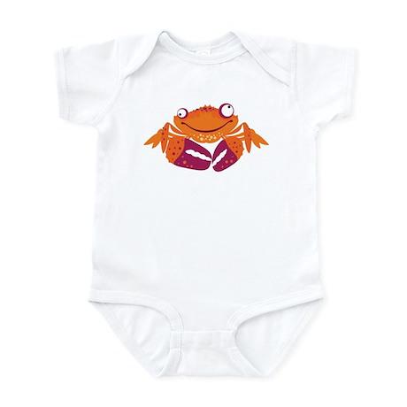 Funny Crab Infant Bodysuit