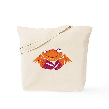 Funny Crab Tote Bag