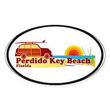 Perdido Key FL Oval Decal