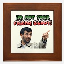 Ahmadinejad - Buddy Framed Tile