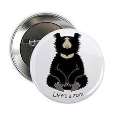 """Sloth Bear 2.25"""" Button"""