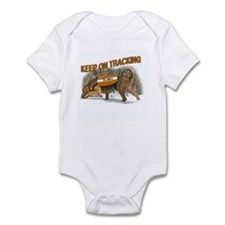 bloodhound tracking Infant Bodysuit