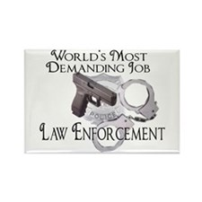 most demanding job Rectangle Magnet