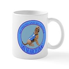 bloodhound search dog Mug