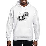Marchenero Pouter Pigeons Hooded Sweatshirt