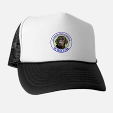 chocolate lab search dog Trucker Hat