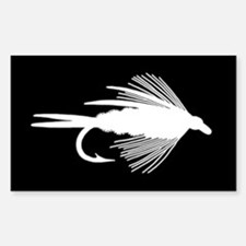 WHITE FLY - Rectangle Decal