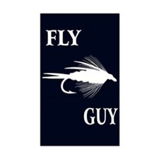 FLY GUY Rectangle Decal