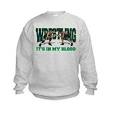 Boys wrestling Crew Neck