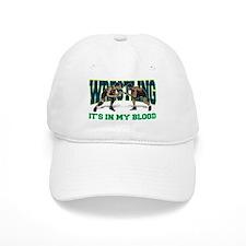 Wrestling It's In My Blood Baseball Cap