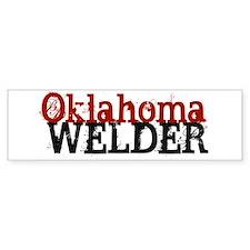 Oklahoma Welder Bumper Bumper Sticker