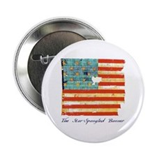 """Star-Spangled Banner"" 2.25"" Button"