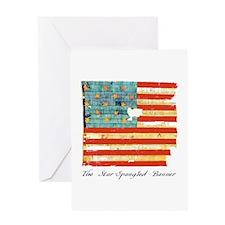 """Star-Spangled Banner"" Greeting Card"